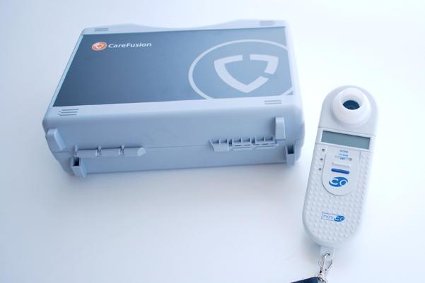 一酸化炭素測定(マイクロCOモニタ)