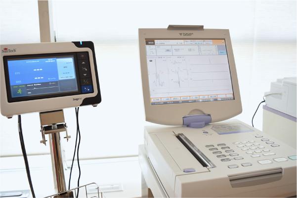 運動量負荷心電計・血圧計